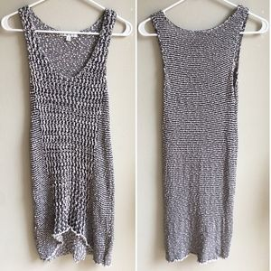 Cabi 488 Tape Yarn Knit Tank Top Size Small